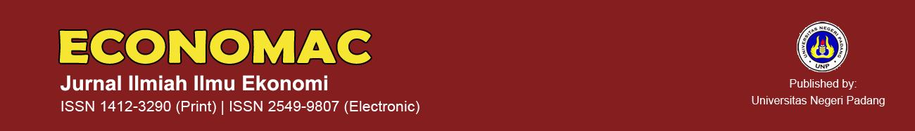 Economac: Jurnal Ilmiah Ilmu Ekonomi